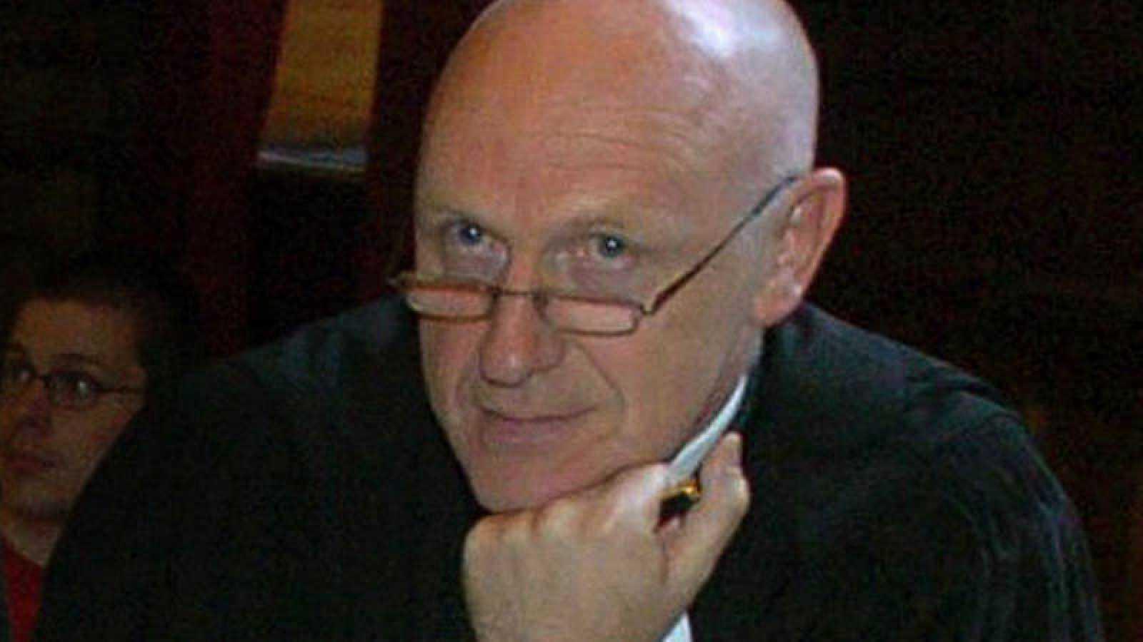 Fotografia de archivo del abogado belga Paul Bakaert
