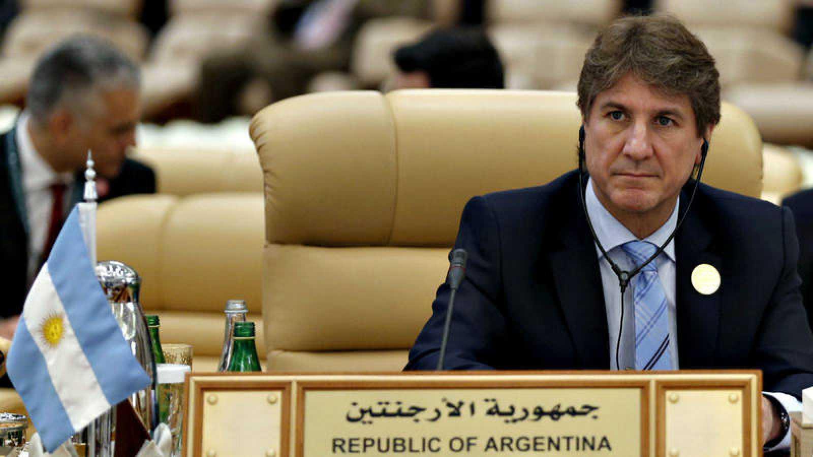 El exvicepresidente argentino, Amado Boudou, en una imagen de archivo