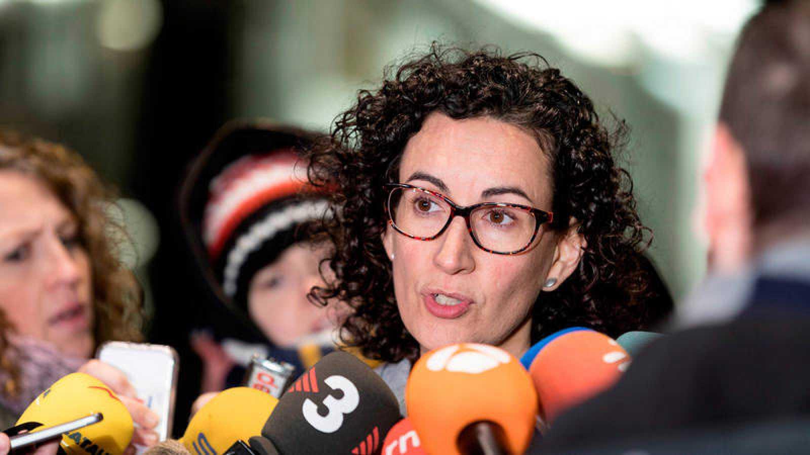 La secretaria general de ERC y número dos de la lista para el 21D Marta Rovira