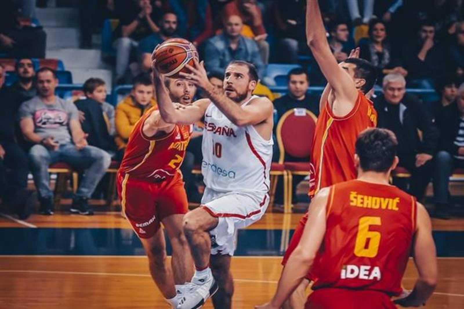 Imagen del partido disputado en Montenegro.