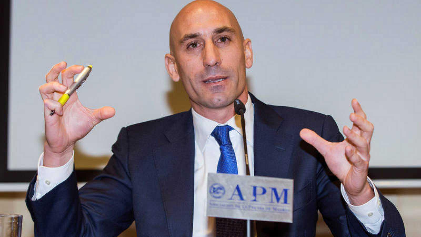 Luis Manuel Rubiales, expresidente de la AFE.