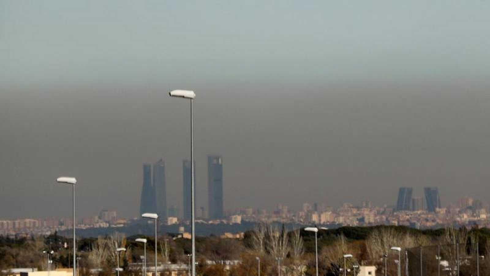 Resultado de imagen de contaminacion madrid