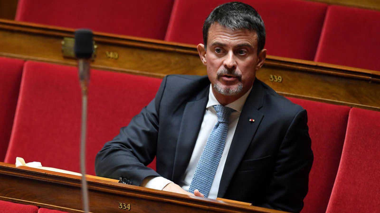 El exprimer ministro francés Manuel Valls