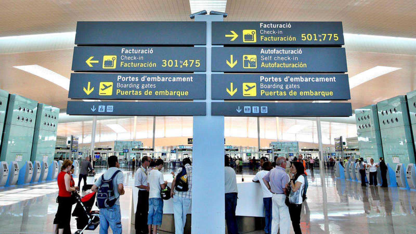 Imagen de archivo del aeropuerto de El Prat