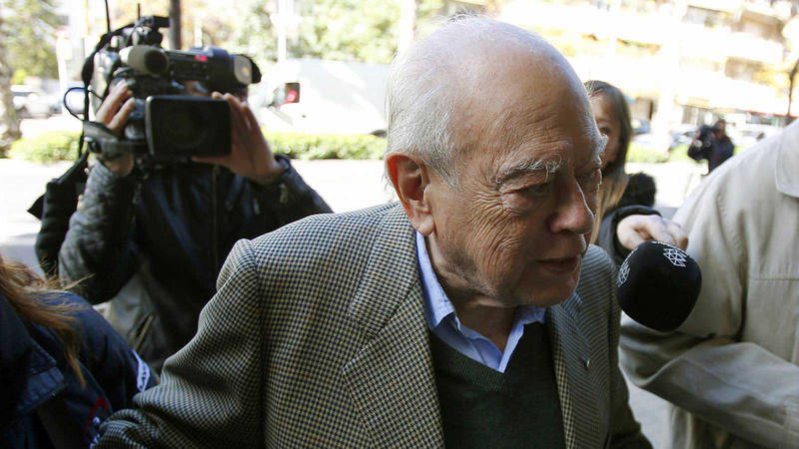 El expresidente de Generalitat, Jordi Pujol ha sido hospitalizado por un fuerte resfriado