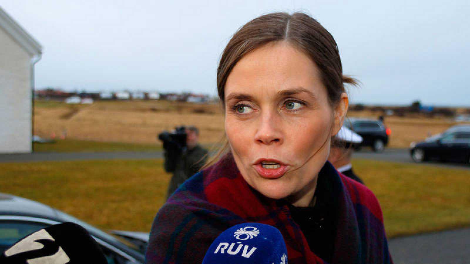 La primera ministra de Islandia, Katrín Jakobsdóttir