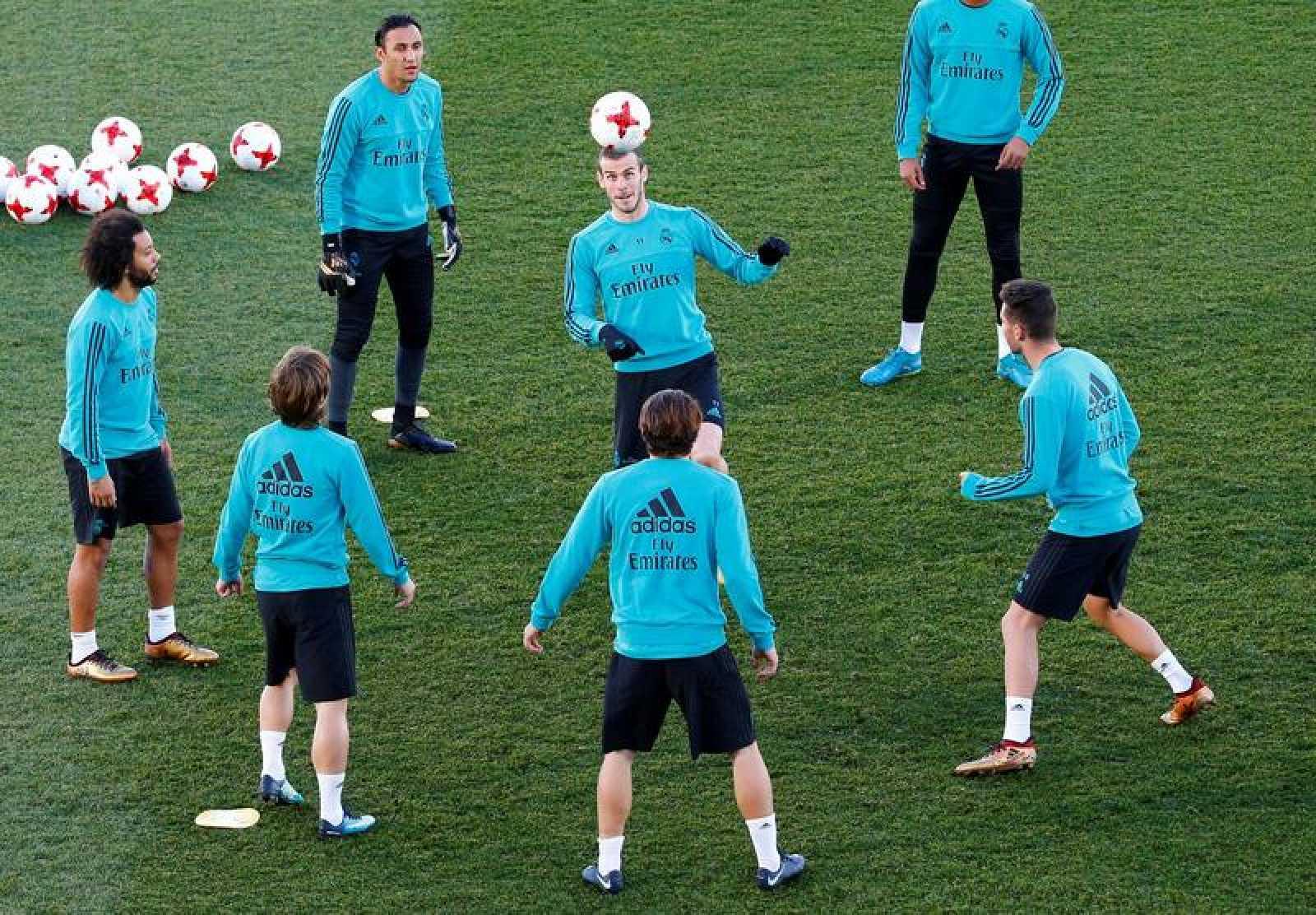Entrenamiento del Real Madrid. dd46c35efe465