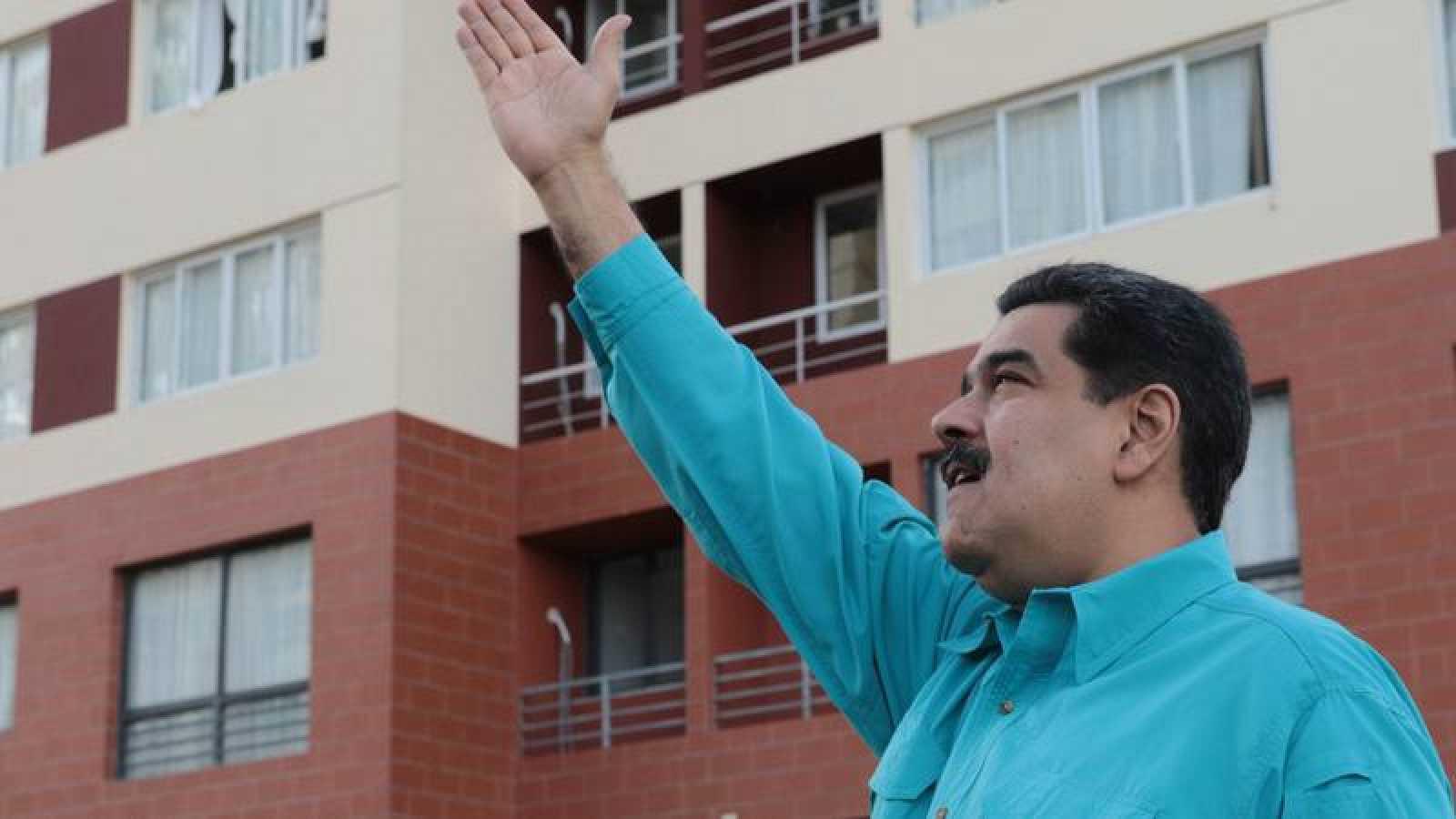 El presidente venezolano, Nicolás Maduro, en un acto el 27 de diciembre