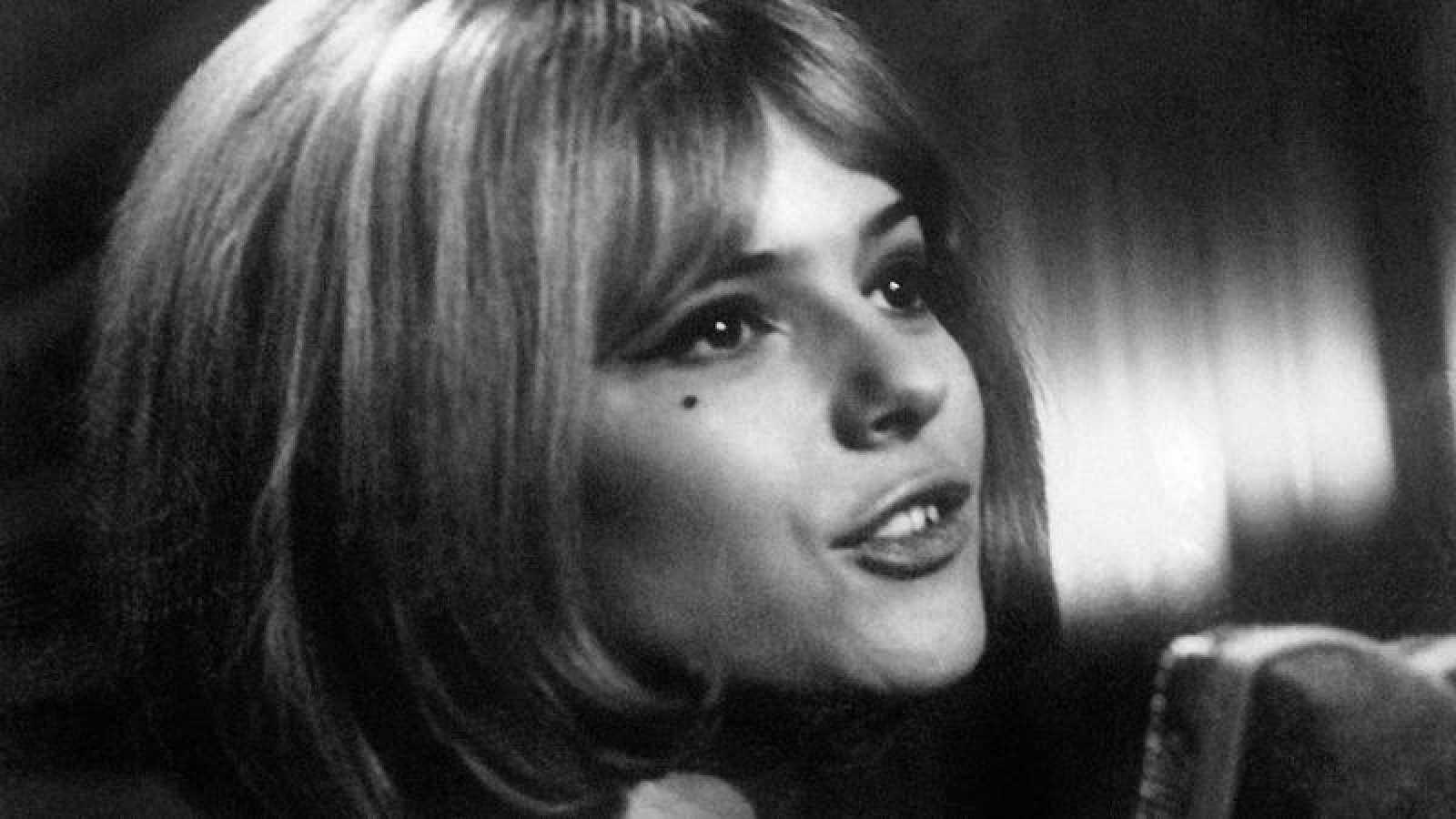 France Gall, durante su participación en el Festival de Eurovisión de 1965