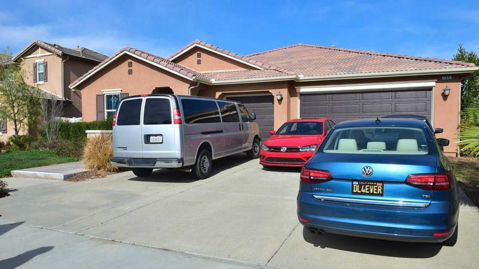 La casa donde los Turpin mantenían retenidos a sus 13 hijos, en Perris, California