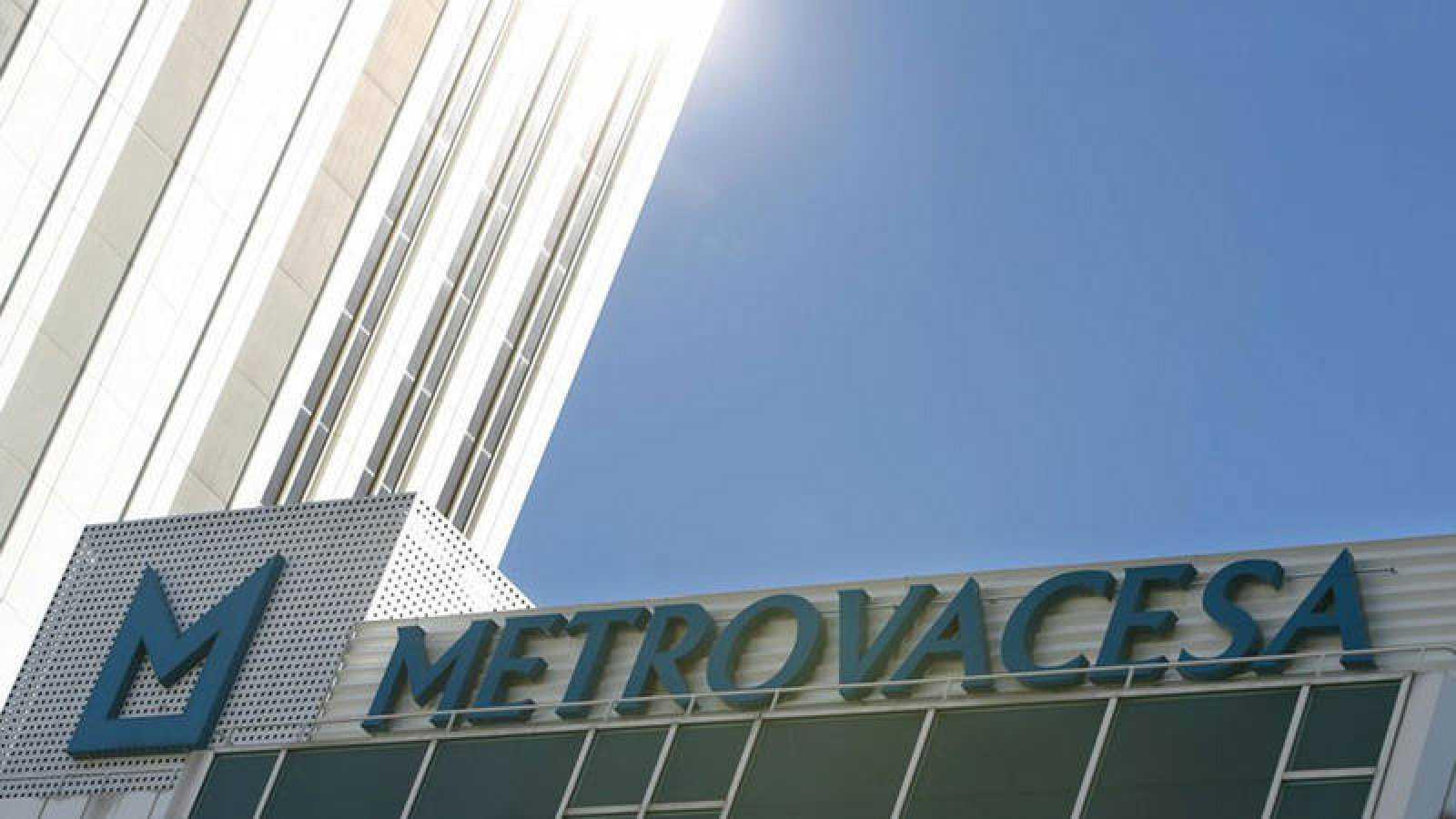 Detalle de la sede de la promotora Metrovacesa en Madrid