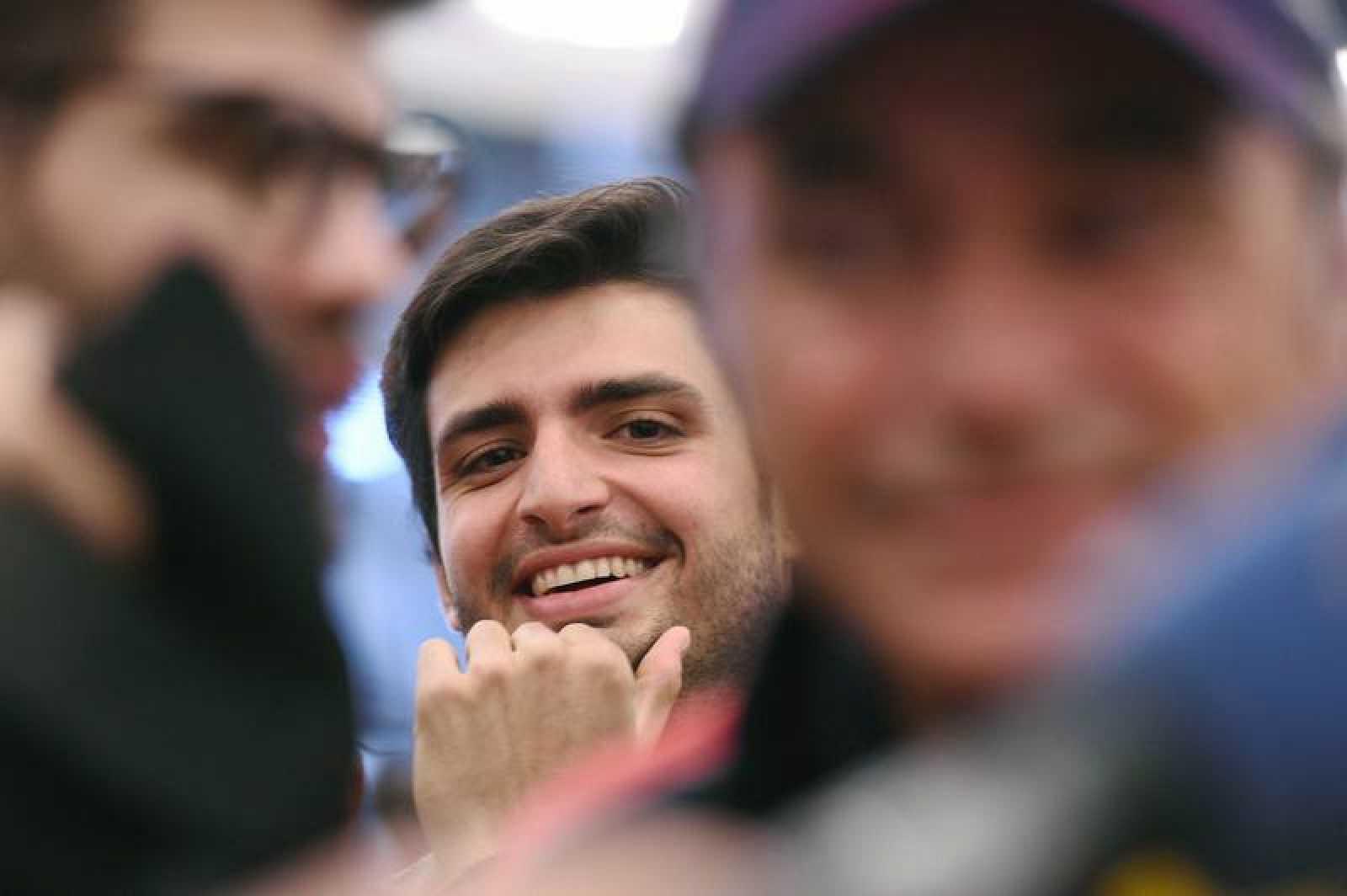 El piloto Carlos Sainz Jr, hijo del piloto Carlos Sainz, ganador del Dakar 2018.