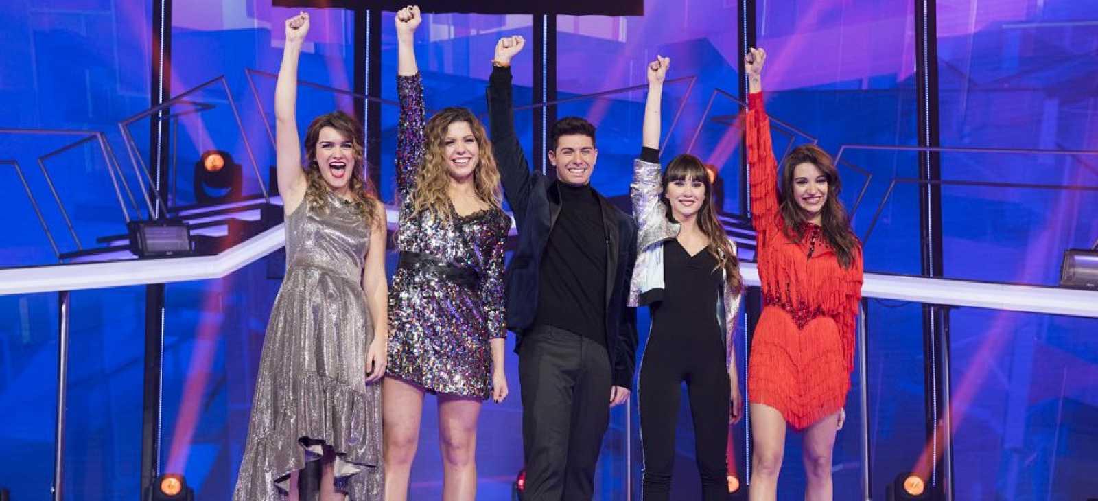 'Operacion Triunfo': Elige la canción que irá a Eurovisión