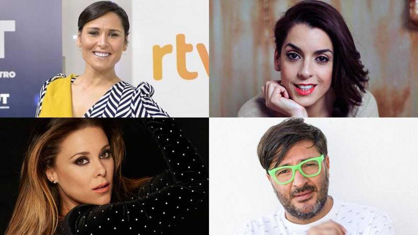 Rosa López, Ruth Lorenzo, Lorena Gómez y Wally López en #EurovisiónOT