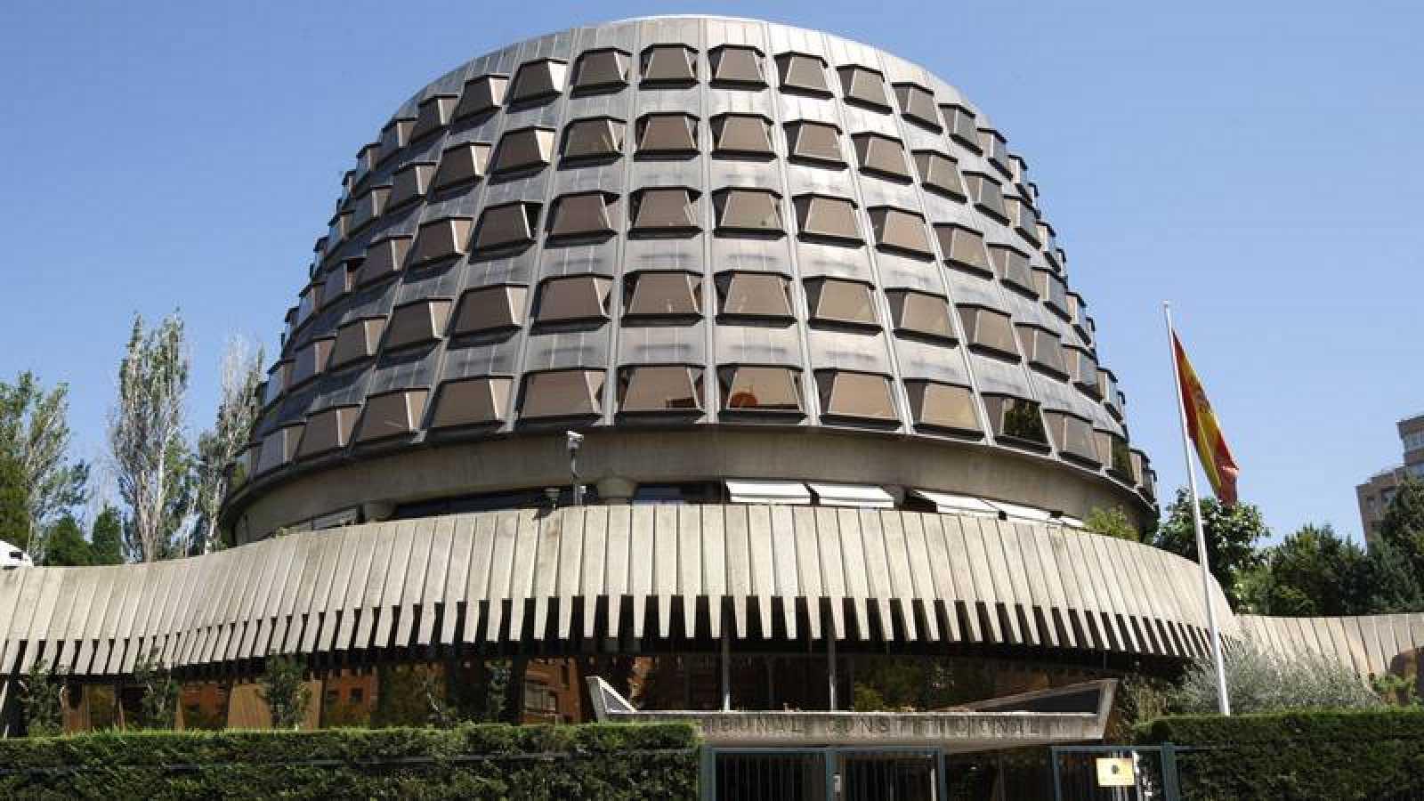 Fotografía de archivo del Tribunal Constitucional, en Madrid
