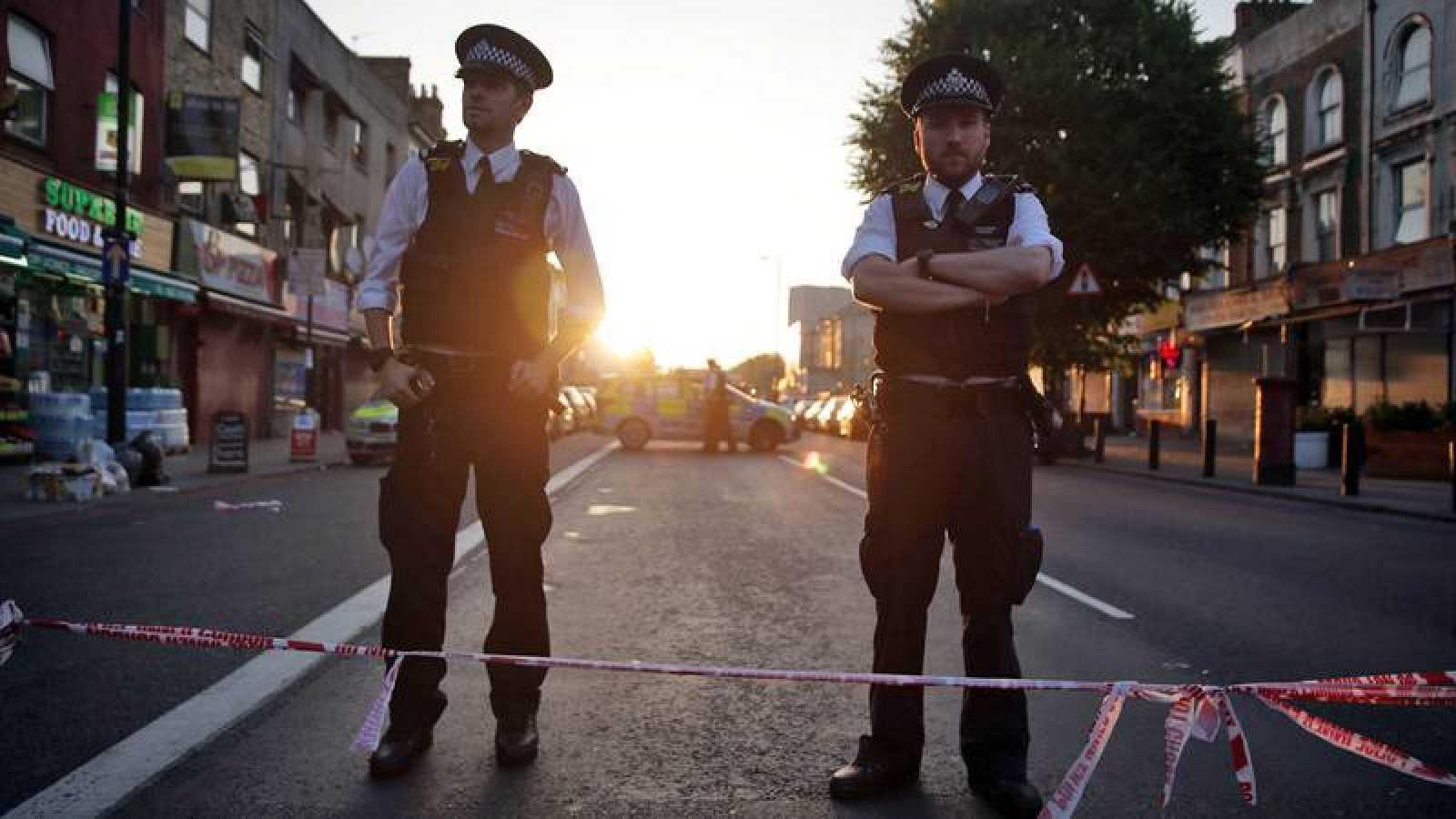 Lugar donde se produjo el ataque en Londres