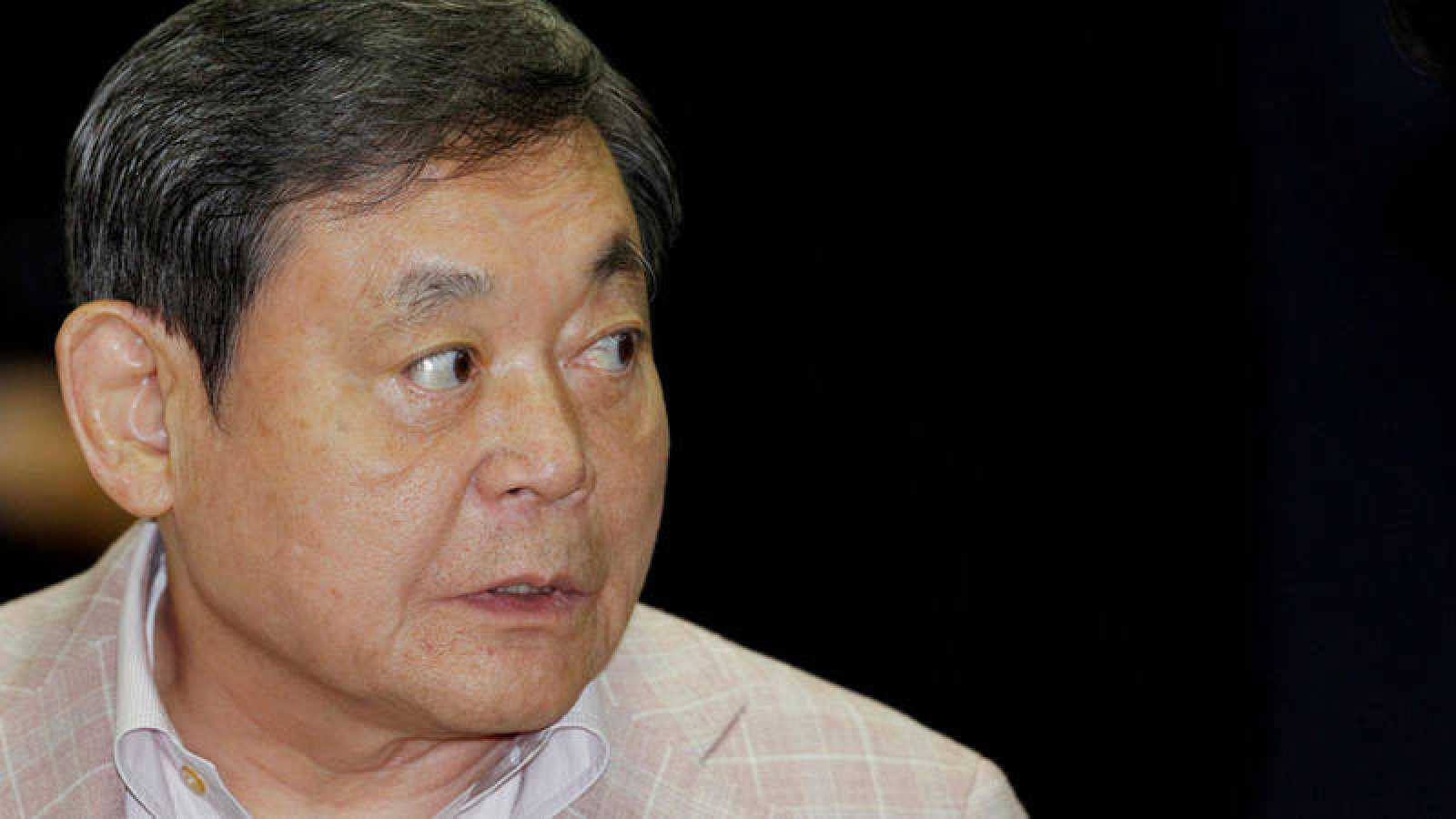 El presidente de Samsung Electronics, Lee Kun-hee