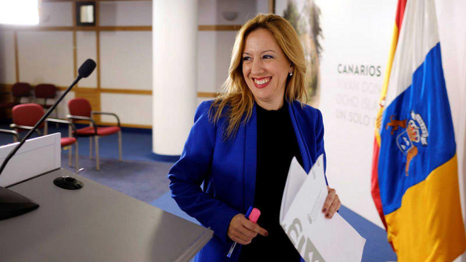 La portavoz y consejera de Hacienda del Gobierno de Canarias, Rosa Dávila