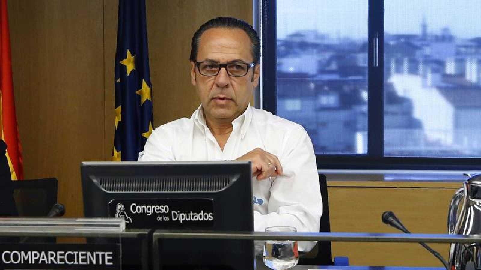 Álvaro Pérez, El Bigotes, en la comisión presunta financiación ilegal del PP