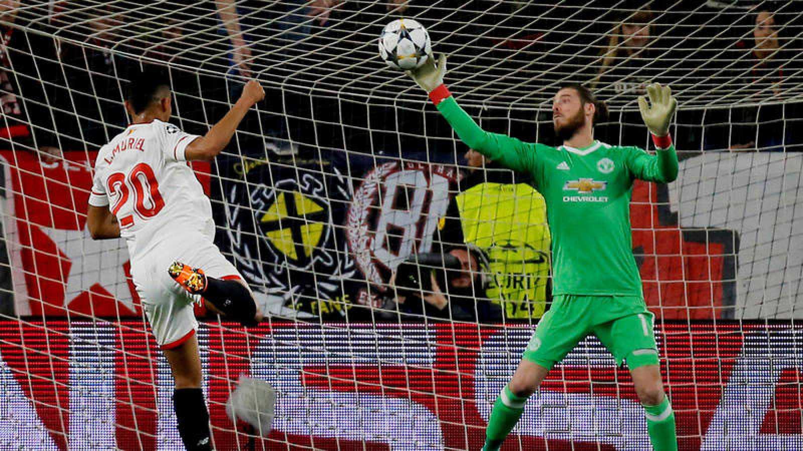 De Gea evita la merecida victoria del Sevilla ante el United