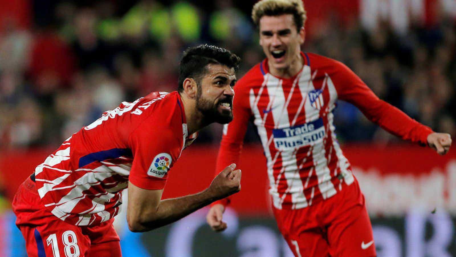 Barcelona y Atlético continuan con su pulso a una semana de verse en el Nou Camp.