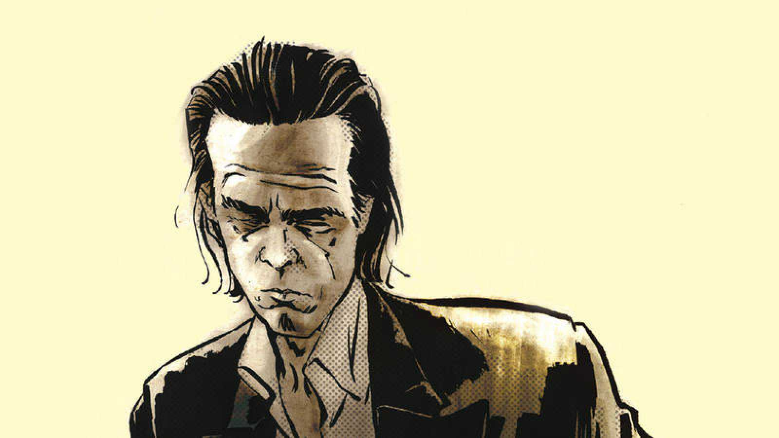 Fragmento de la portada de 'Nick Cave: Mercy on me'
