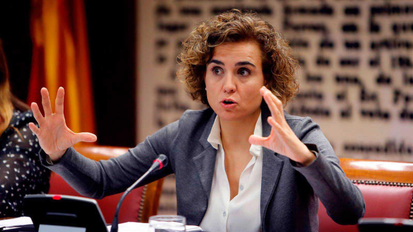 La ministra de Sanidad, Servicios Sociales e Igualdad, Dolors Montserrat
