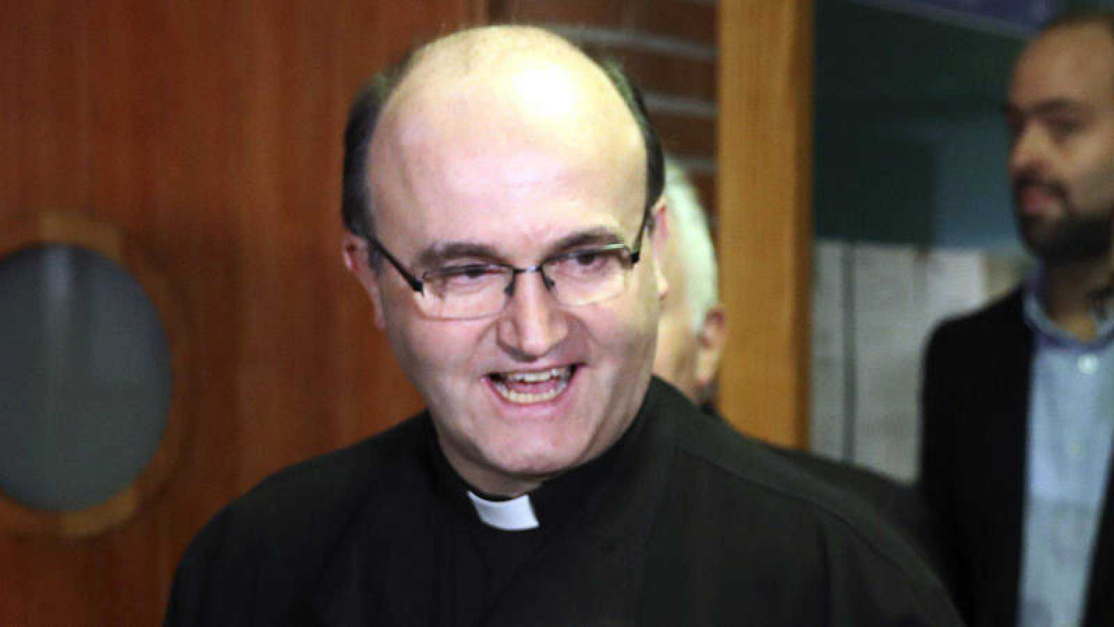 El obispo de San Sebastián, José Ignacio Munilla, fotografiado en Gipúzkoa