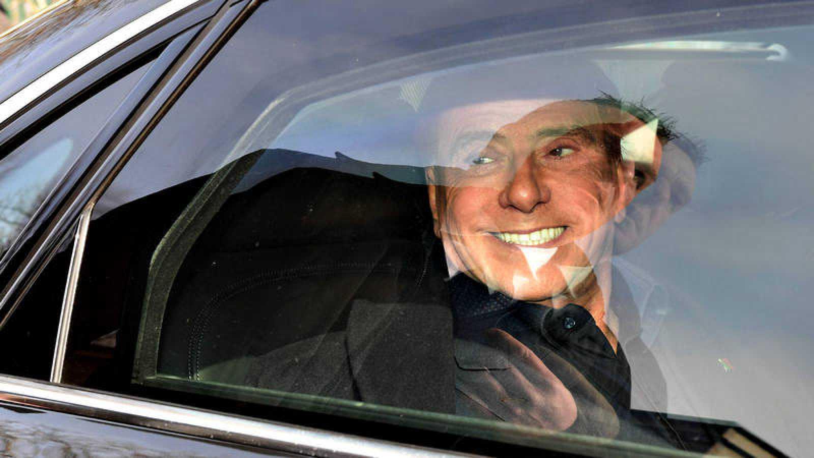 El exprimer ministro italiano y líder de Forza italia, Silvio Berlusconi, el día de las elecciones