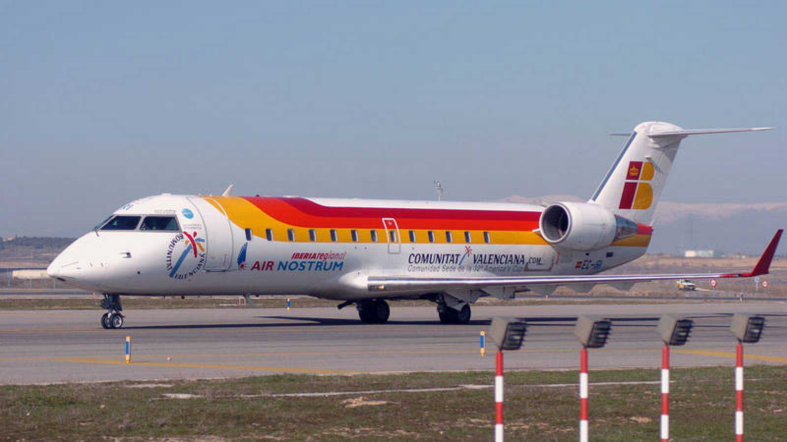 Un avión de Air Nostrum en una imagen de archivo