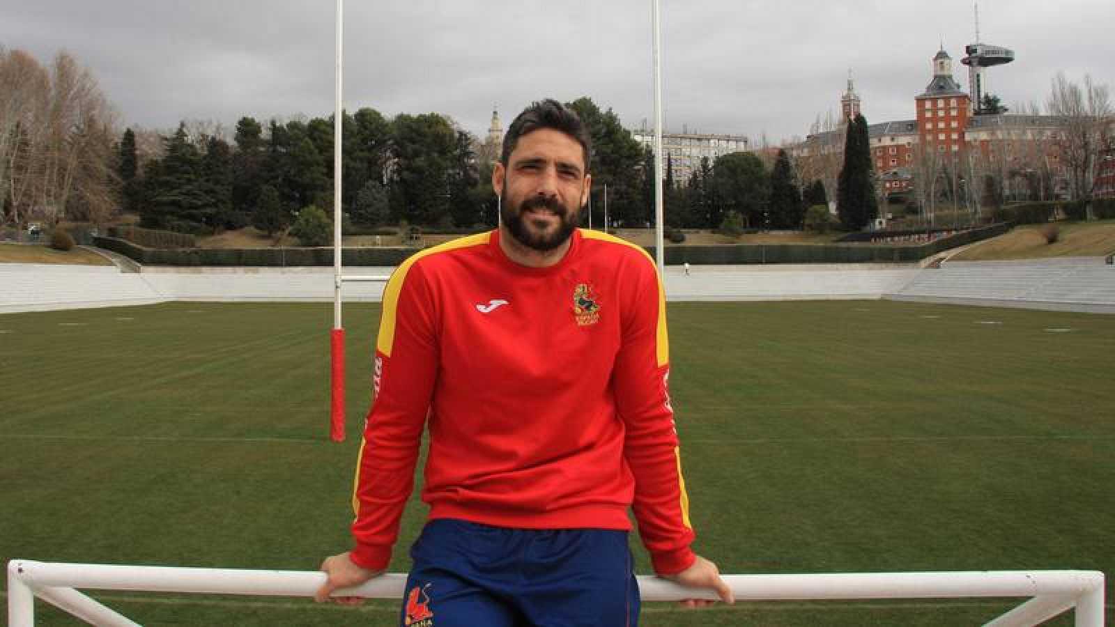 Jaime Nava, capitán de la selección española de rugby.
