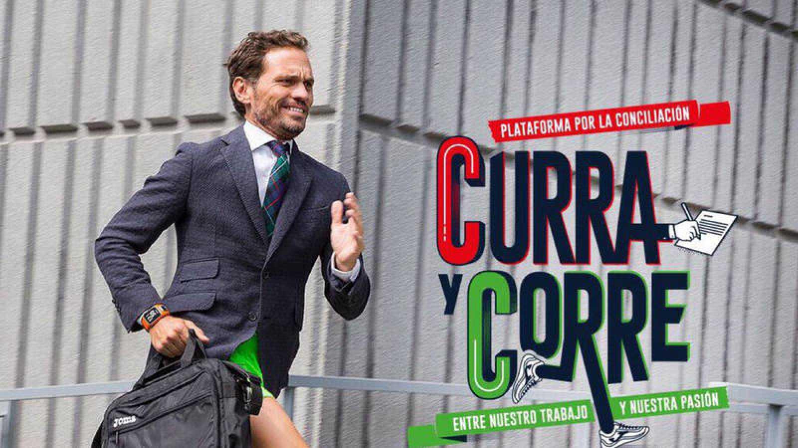 'Curra y corre', el secreto para conciliar trabajo y deporte