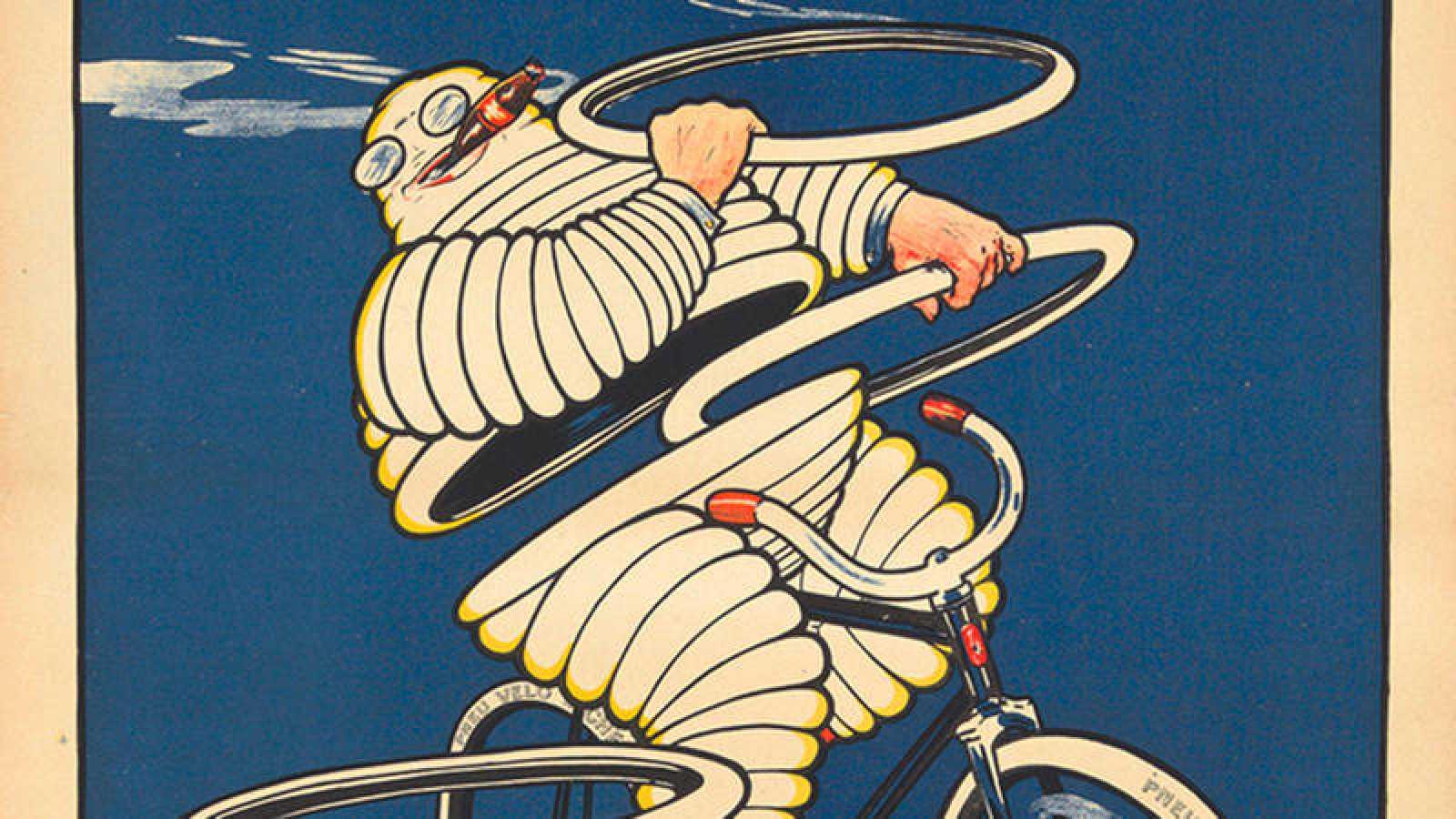 El famoso muñeco Michelin en 1912