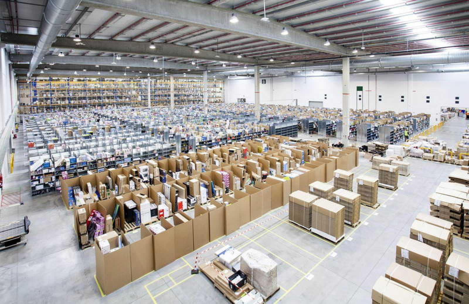 Almacen logistico amazon españa