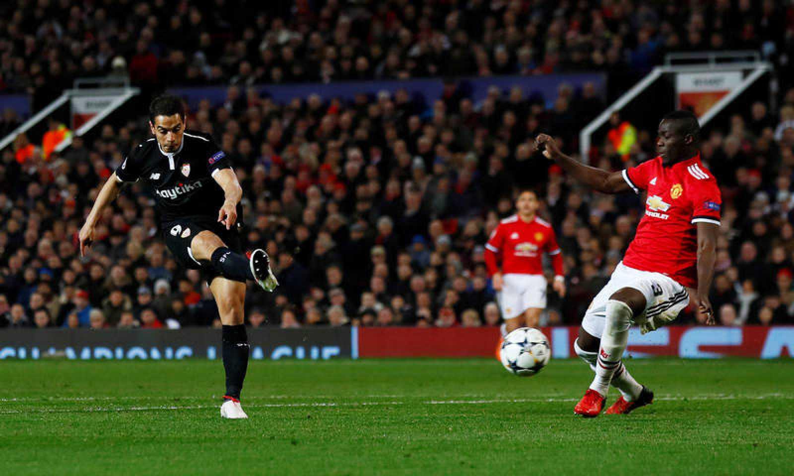 Ben Yedder, la figura del Sevilla 1-2 Manchester United.