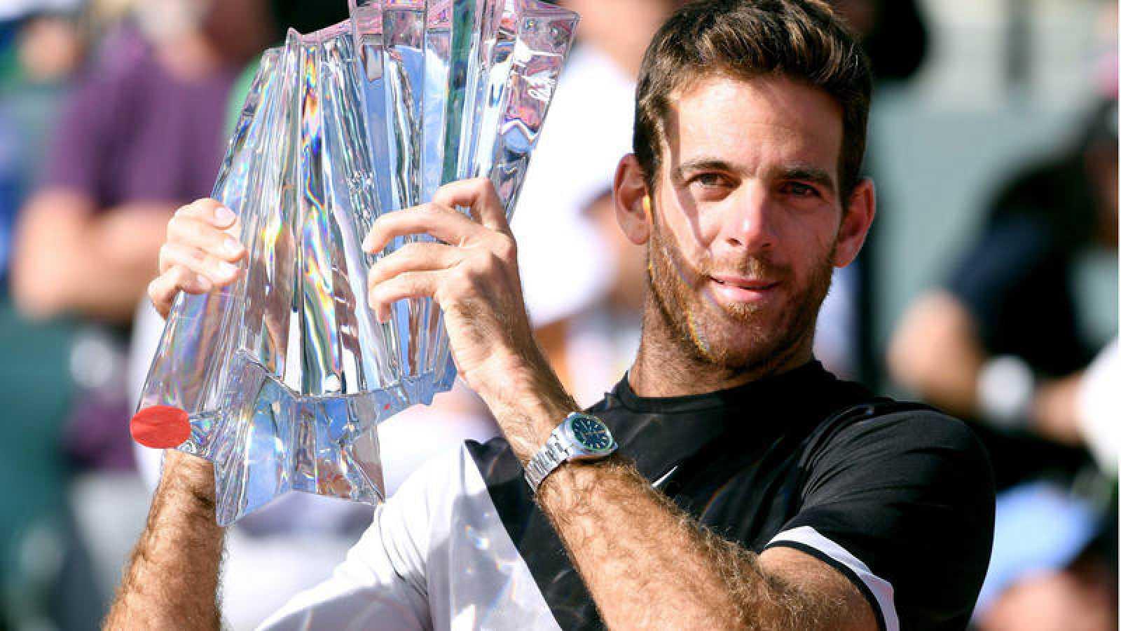 Del Potro derrota a Federer y se proclama campeón en Indian Wells por primera vez