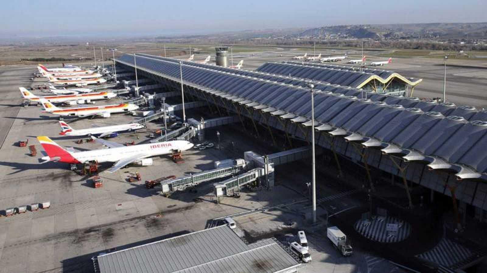 Resultado de imagen de el aeropuerto de Barajas