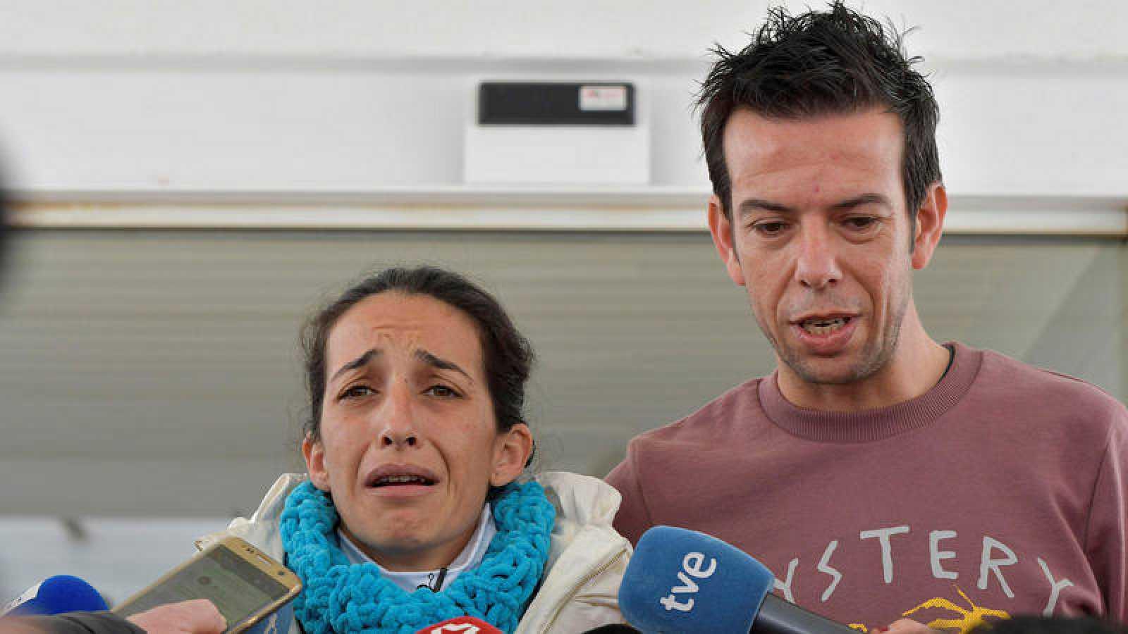 Ángel y Patricia, los padres de Gabriel, han declarado como testigos ante el juzgado de Almería