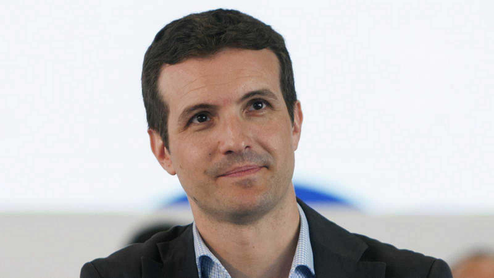 El vicesecretario nacional de Comunicacón del PP, Pablo Casado.
