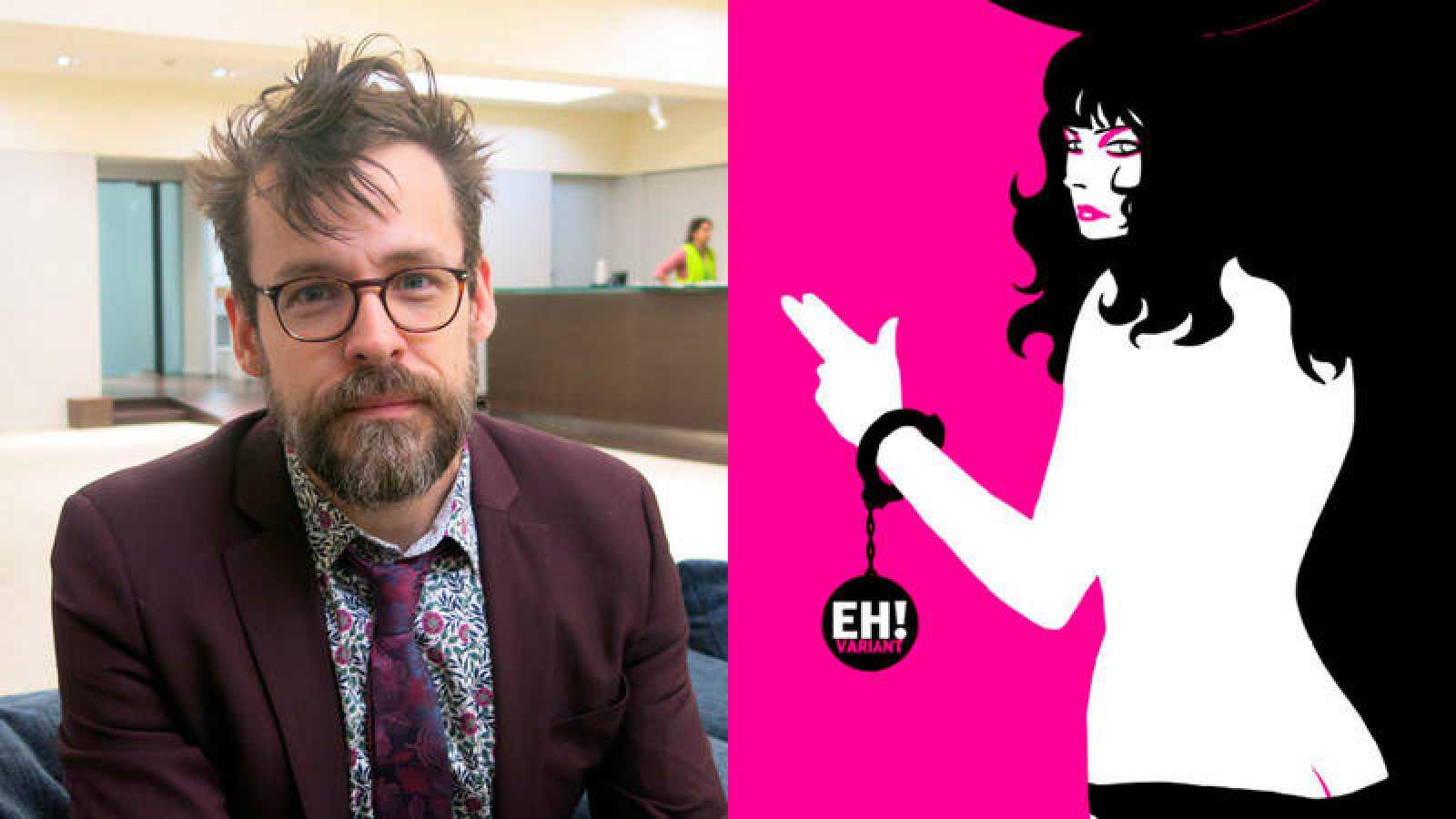 Matt Fraction en el Salón del Cómic y una imagen de 'Sex Criminals'
