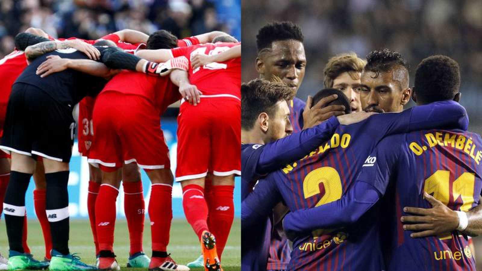 Sevilla y Barcelona hacen piña para la Copa.