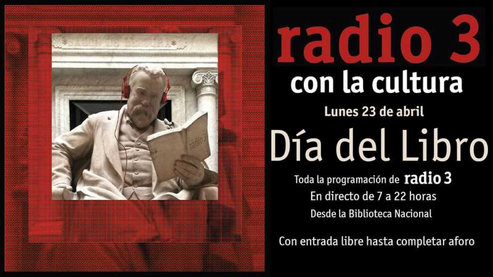 Cultura, libros y la mejor música en directo, el lunes 23 de abril en la Biblioteca Nacional
