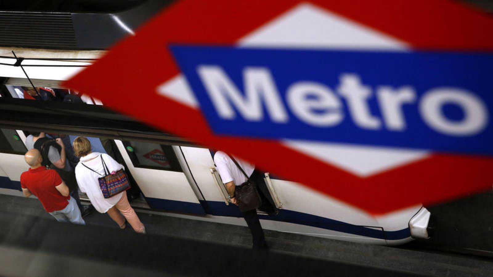 Foto de archivo de Metro Madrid