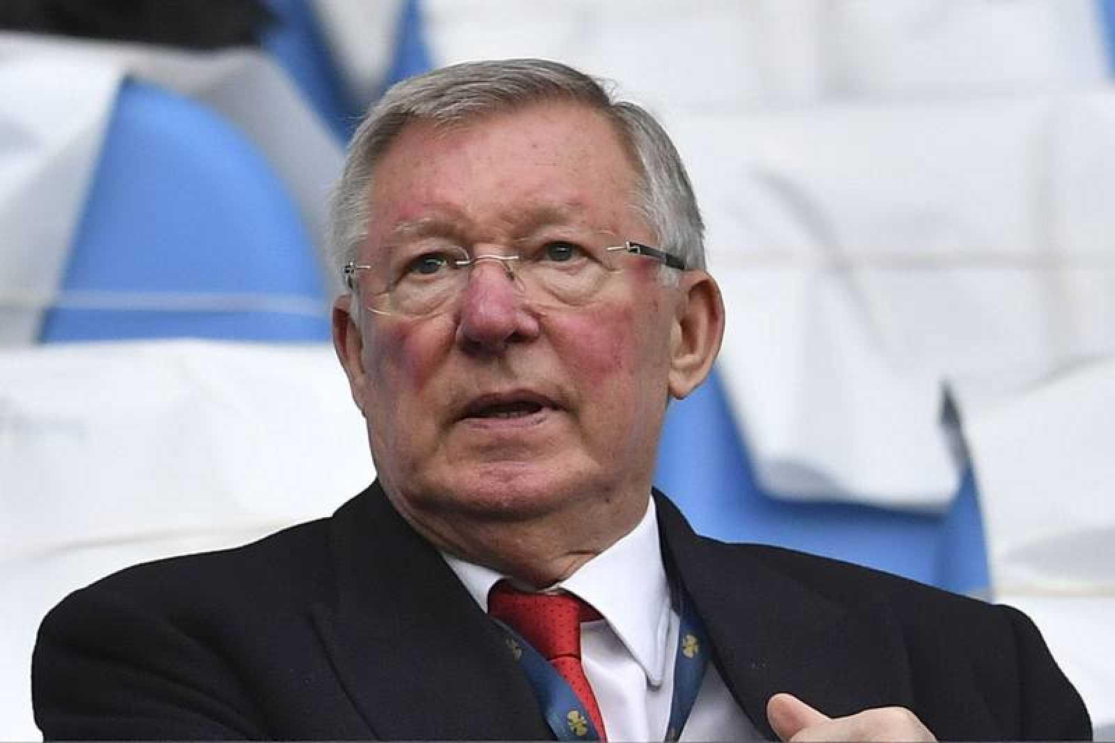 El exentrenador del Manchester United Alex Ferguson.