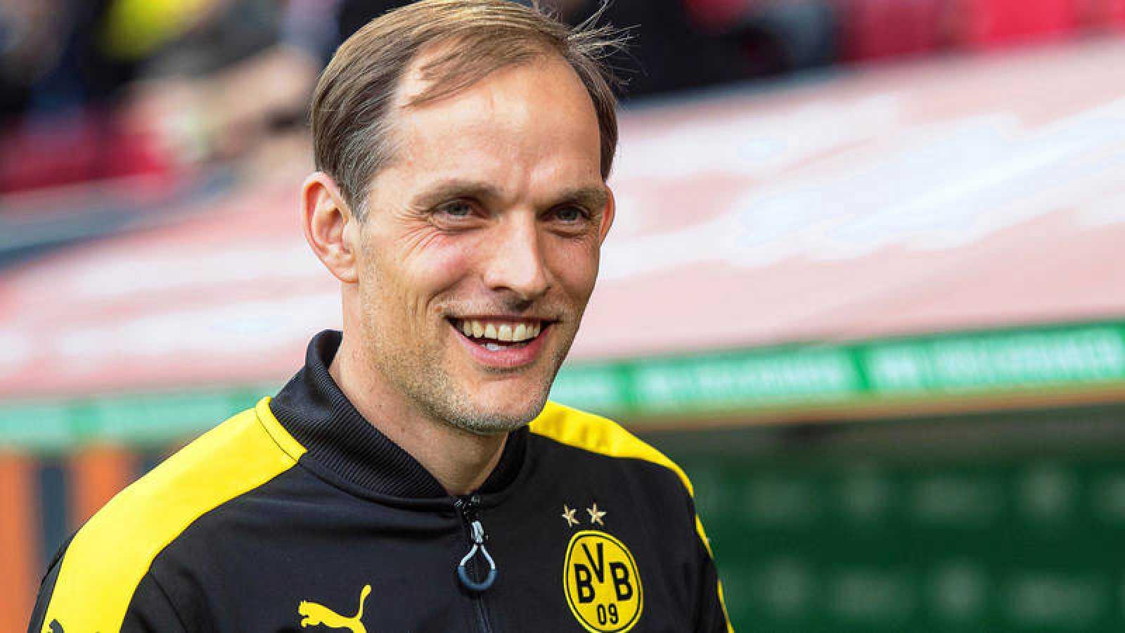Imagen de archivo de Thomas Tuchel, exentrenador del Borussia Dortmund y futuro técnico del PSG.