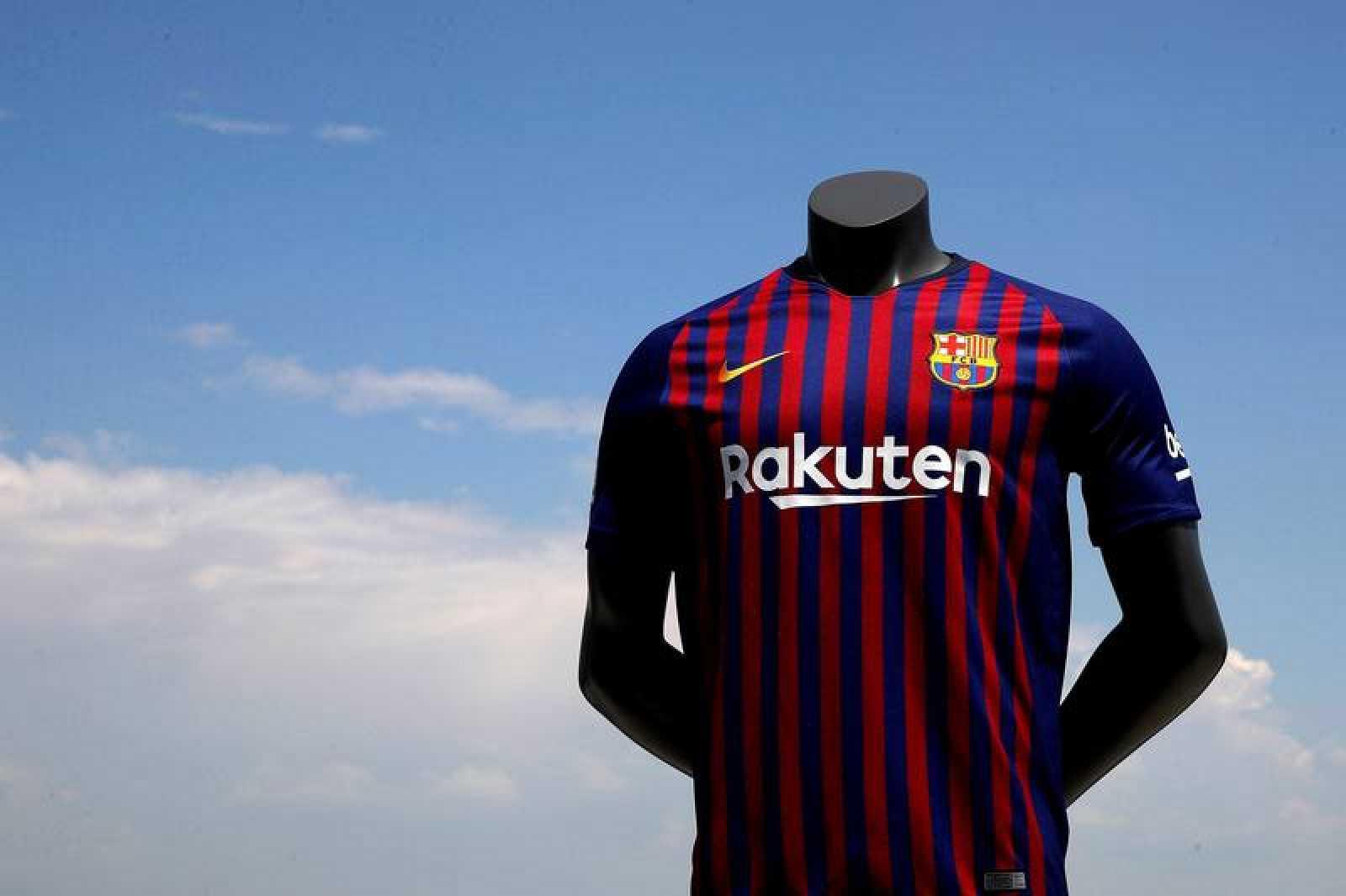 El Barça estrenará su equipación de la próxima temporada ante la ... 8db2a1f81006c