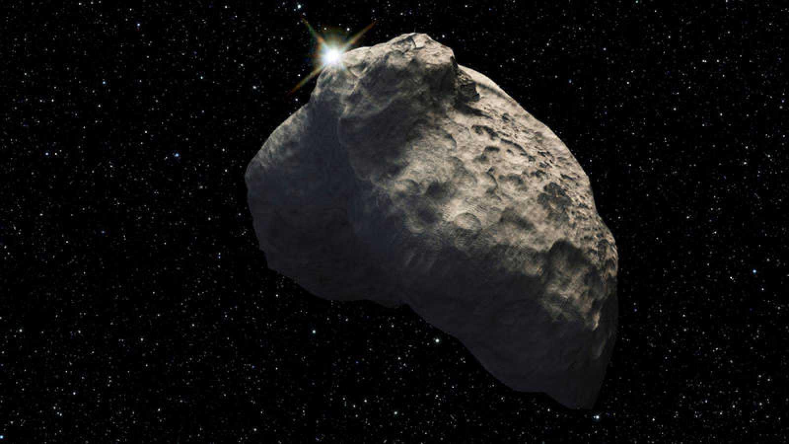 El asteroide que se aproximó a la Tierra no implicaba peligro.