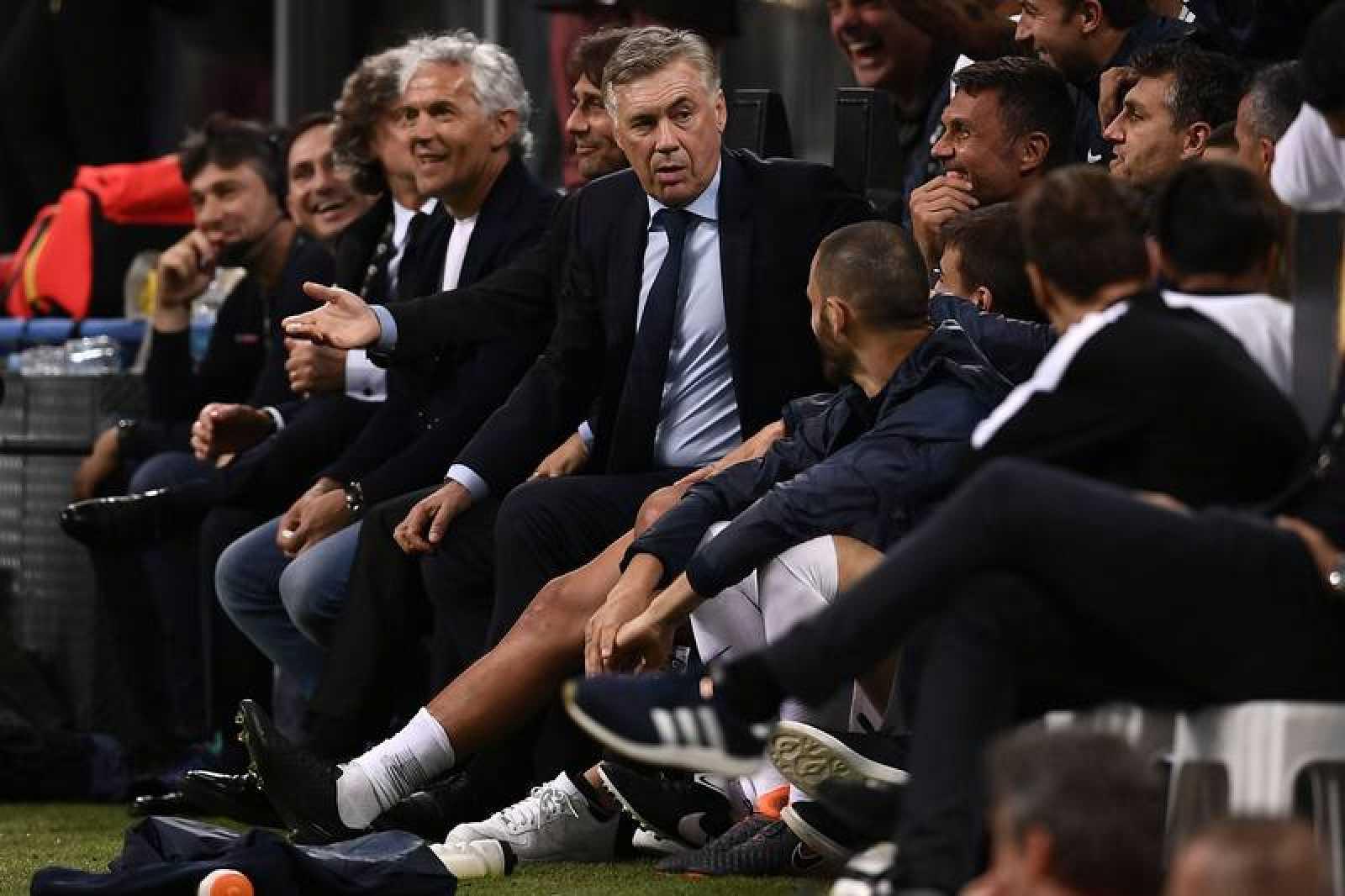 Carlo Ancelotti, nuevo entrenador del Nápoles.