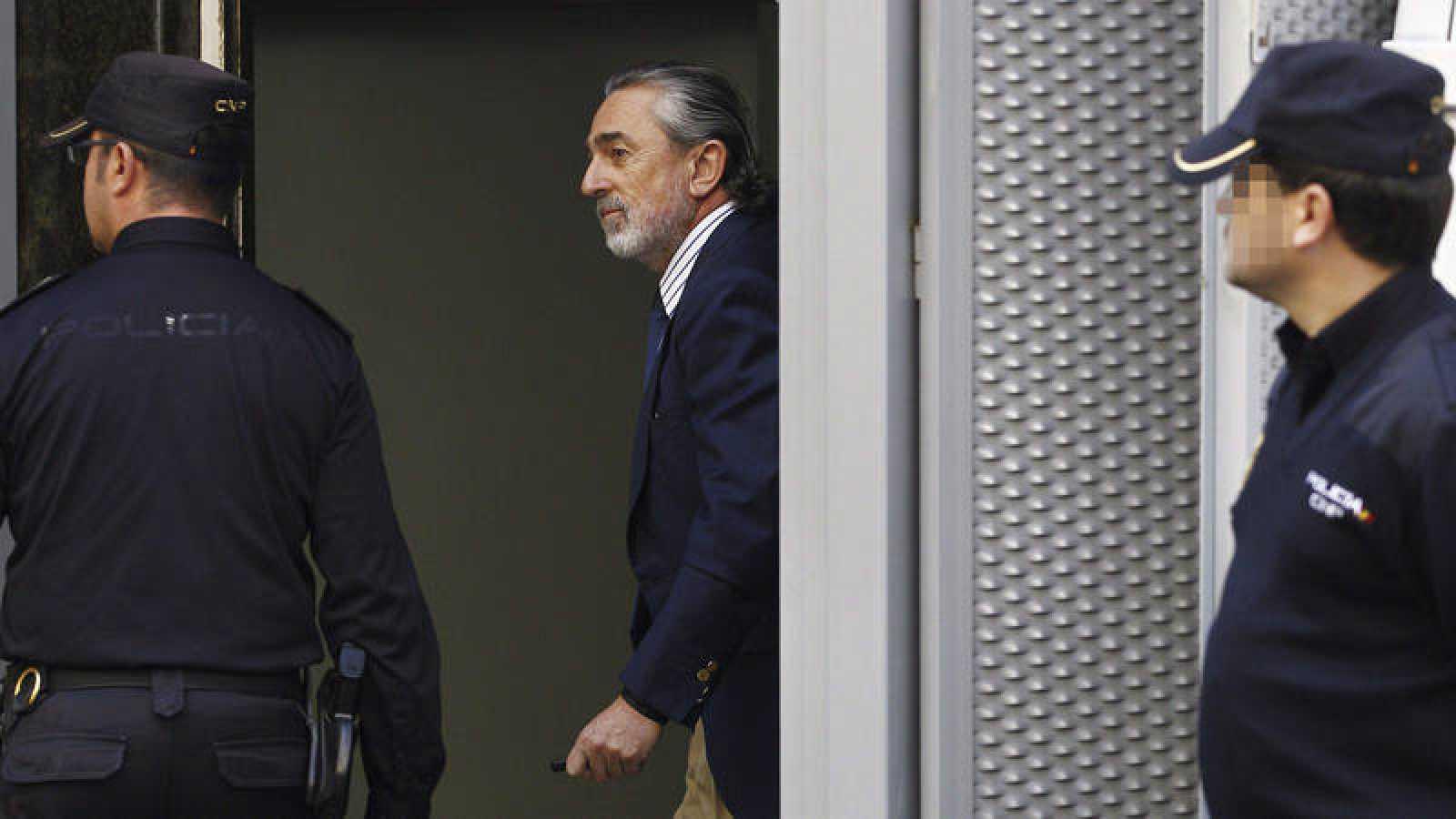 El cabecilla de la trama Gürtel, Francisco Correa, en una imagen de archivo en la Audiencia Nacional