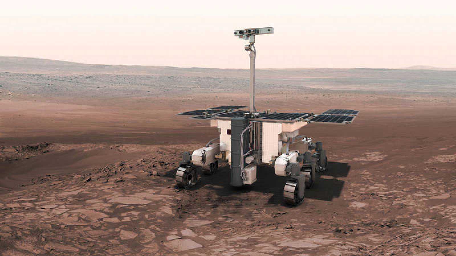 El róver pesa 300 kilogramos y tiene una autonomía de 218 días marcianos.